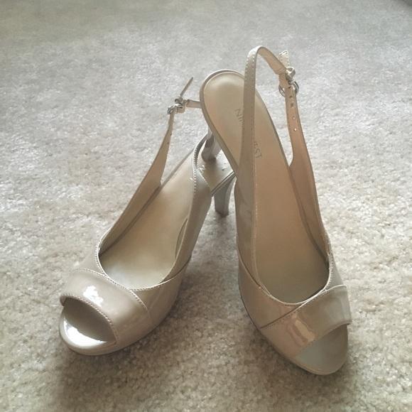 Nine West Womens Kalner Slingback Dress Sandals